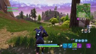 Fortnite doing my last challenges