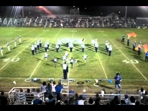 Manchester High School Marching Band-First Home Game of 2011
