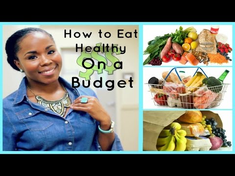 How to Eat Healthy on a SMALL Budget || Tips for College Students, Professionals & Families