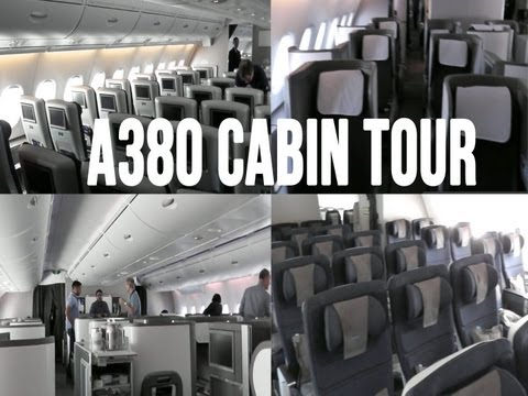 British Airways Airbus A380-800 Cabin Tour