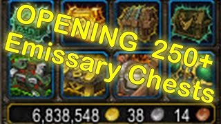 WoW Legion Legendary Drop Reaction   OPENING Emissary Caches (250+)   Emissary Chests (250+)