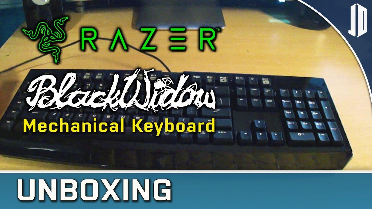 RAZER BlackWidow EXPERT Mechanical Gaming Keyboard Unboxing + Review