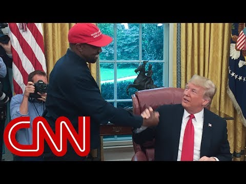 Kanye Wests rant leaves Trump speechless