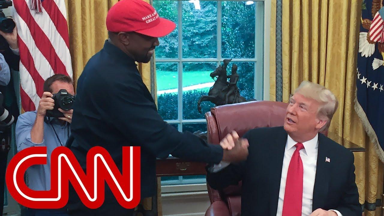 Kanye West's rant leaves Trump speechless