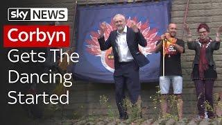 Jeremy Corbyn Dancing At Sunderland Rally