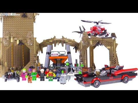 LEGO Classic Batman TV series Batcave set review! 76052