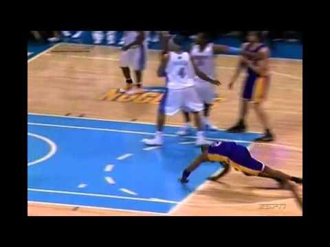 Dahntay Jones 低級下流的絆腳險讓Kobe受傷