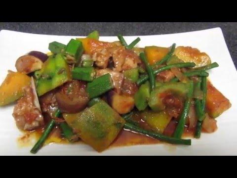 Chicken pinakbet recipe