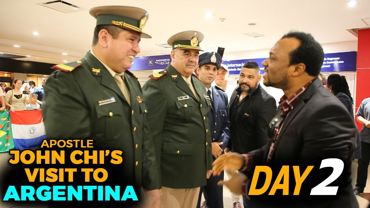 APOSTLE JOHN CHI'S VISIT TO ARGENTINA (DAY TWO)