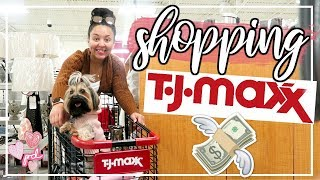 TJ MAXX SHOP WITH ME 2019 | NEW HOME DECOR HAUL | Page Danielle