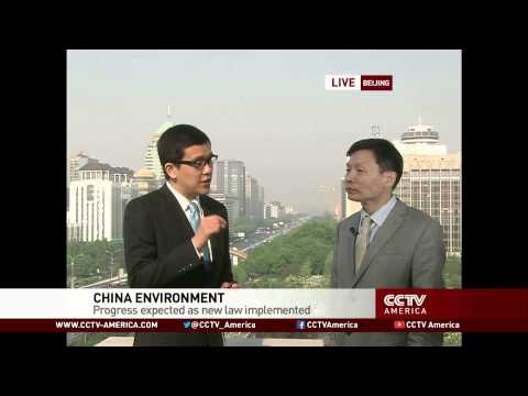 Interview with Cao Deming on China's revised Environmental Protection Law