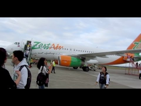 PINOY TRAVEL Ep.18 : First Flight with Zest Airways A320 | Manila - Iloilo | Part 2/2