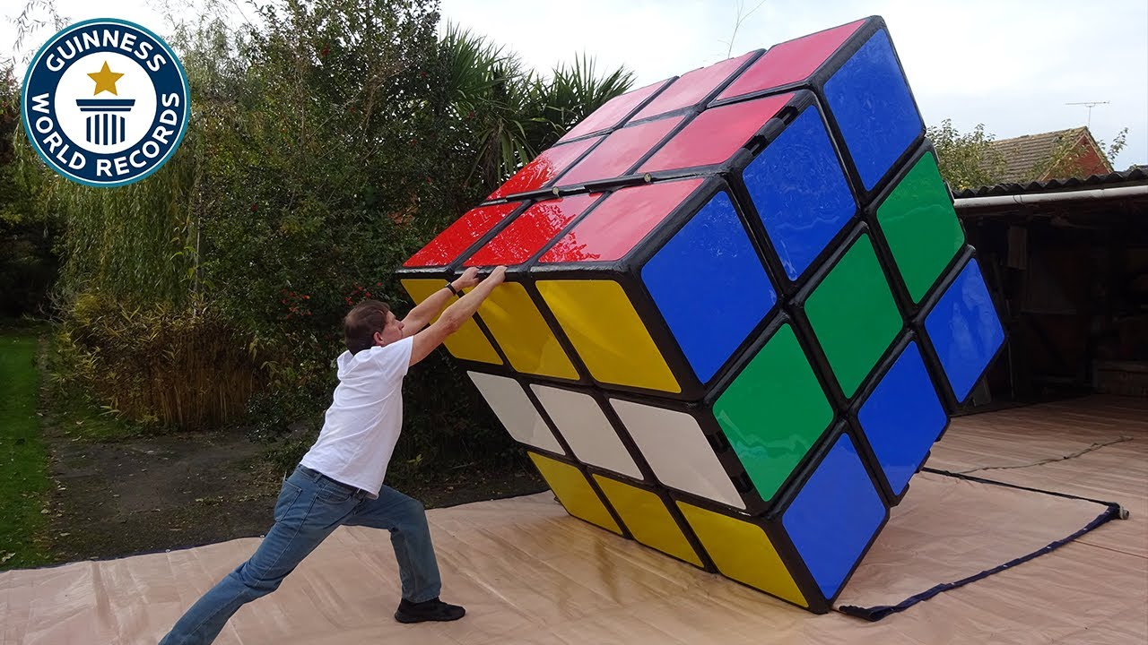 Download Making the largest Rubik's Cube - Guinness World Records