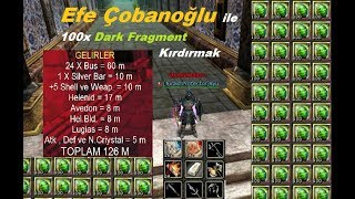Knight Online # Şans Oyunları # 100 X Dark Fragment of Gluttony Kırdırmak