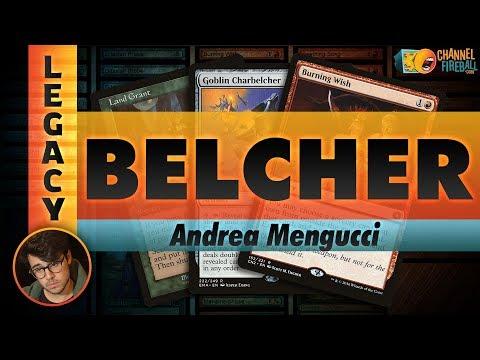 Channel Mengucci - Legacy Belcher (Deck Tech & Matches)