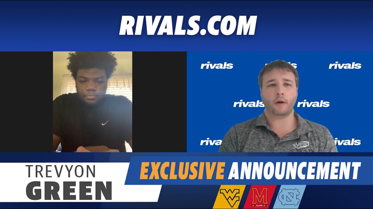 Video: Trevyon Green Announces His Commitment To UNC