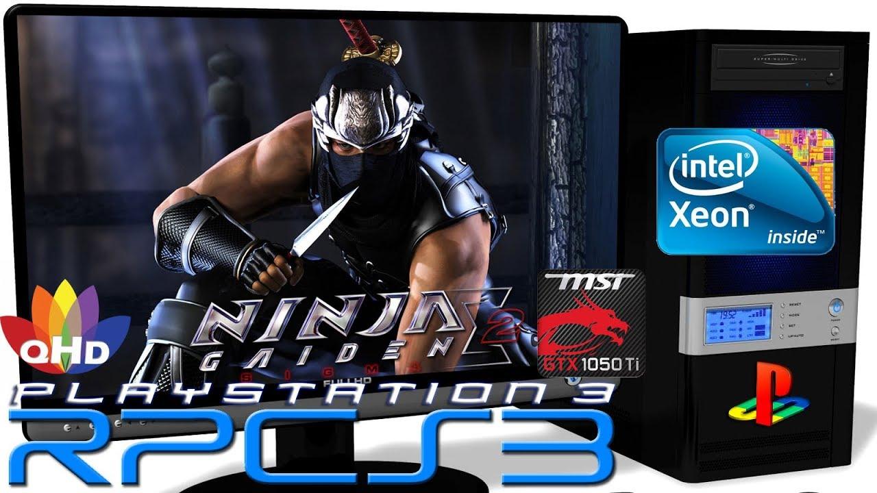 Rpcs3 0 0 6 Ps3 Emulator Ninja Gaiden Sigma 2 Gameplay Xeon E5 2650v2 8 Youtube