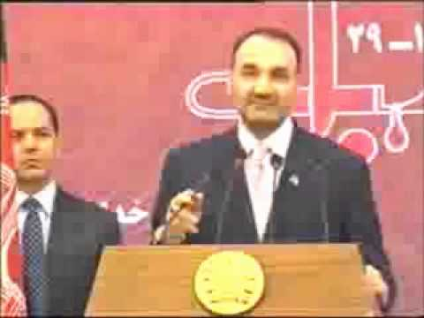 Ustad Atta Mohammad Noor Historic speech during Anniversary of Ustad Rabbani and Massoud