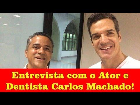 Entrevista com o Ator e Dentista Carlos Machado sobre Empreendedorismo!