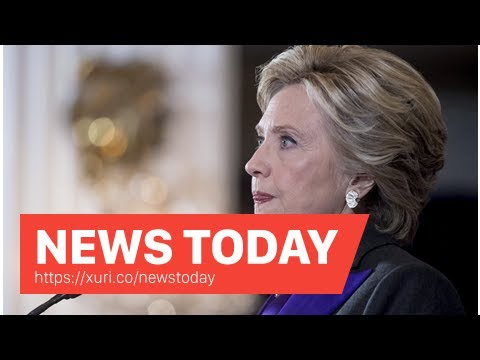 News Today - Clinton dismayed by a complaint of harassment related to former Assistant