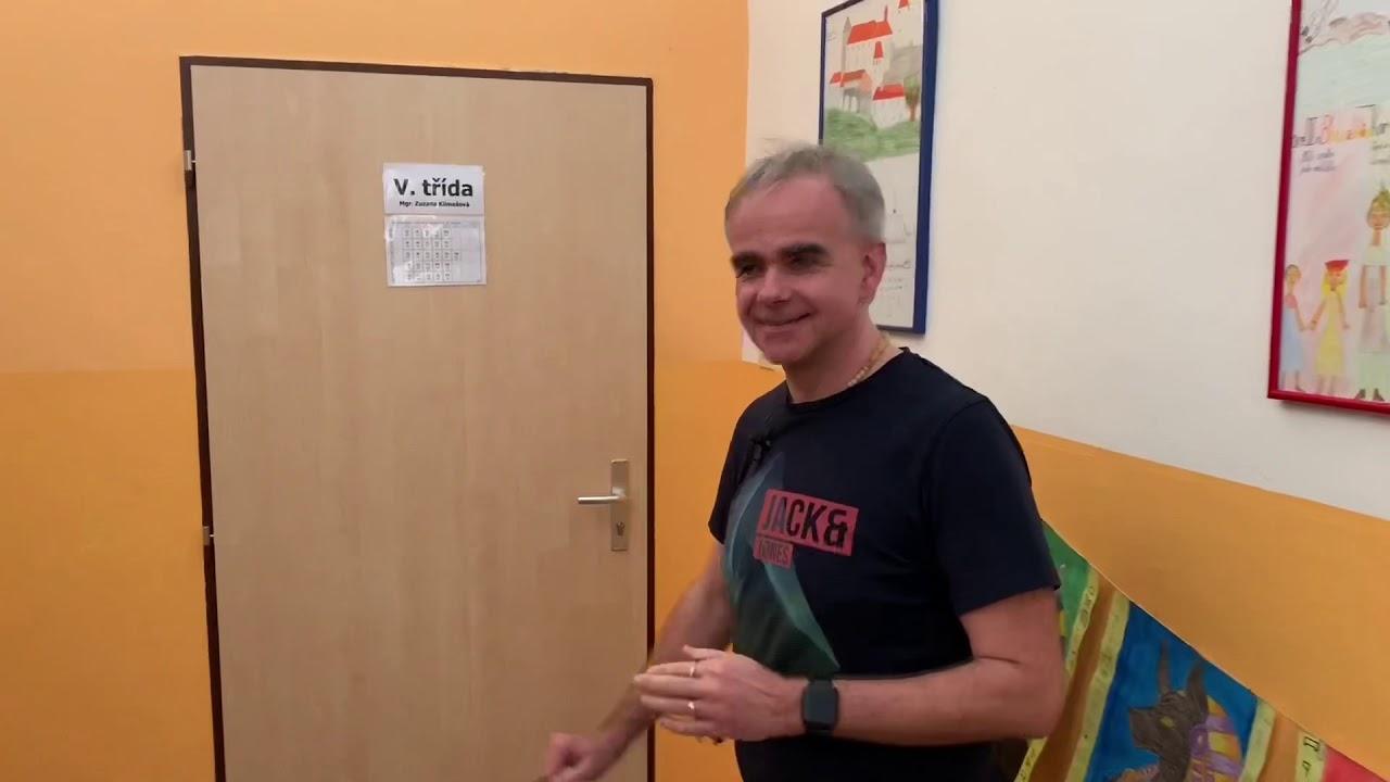 Návštěva ve výuce u Libora Klubala