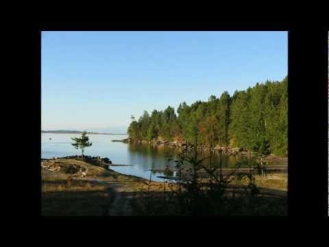 Waterfront property for sale on Denman Island, British Columbia Canada