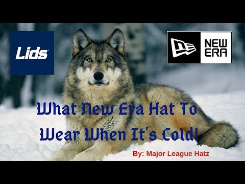 What New Era Hat to Wear When it's FREEZING! MUST WATCH!