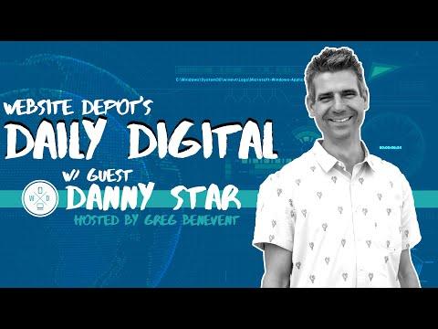 TikTok Marketing, Google Updates, and More | Daily Digital #26 | feat. Website Depot CEO Danny Star