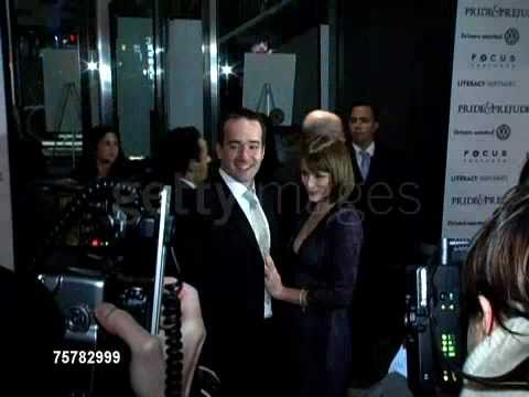 Matthew Macfadyen and Keeley Hawes red carpet Pride & Prejudice New York