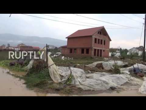 Macedonia: Skopje devastated by deadly flooding
