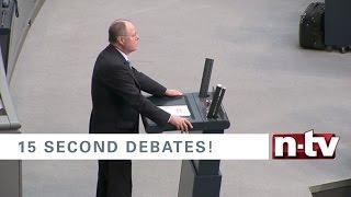 15 Sekunden müssen reichen. Die kürzesten Debatten zur Bundestagswahl - Peer Steinbrück