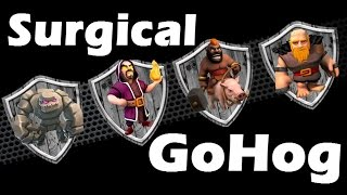 Clash Of Clans - Surgical GoHog Attack Strategy vs Internet Base And Maxed Defenses Th9