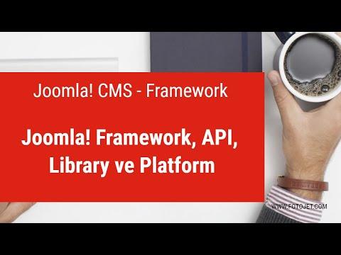 02 - Joomla! Framework, API, Library Ve Platform