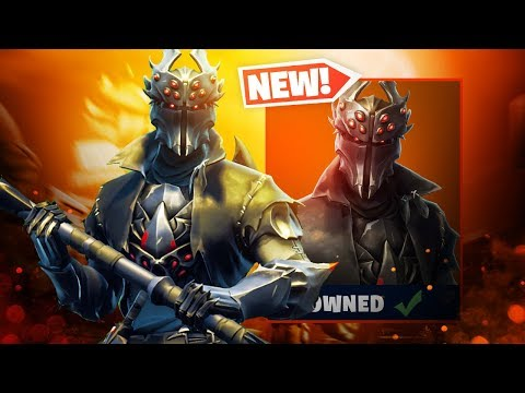 The New SPIDER KNIGHT Skin Gameplay in Fortnite..