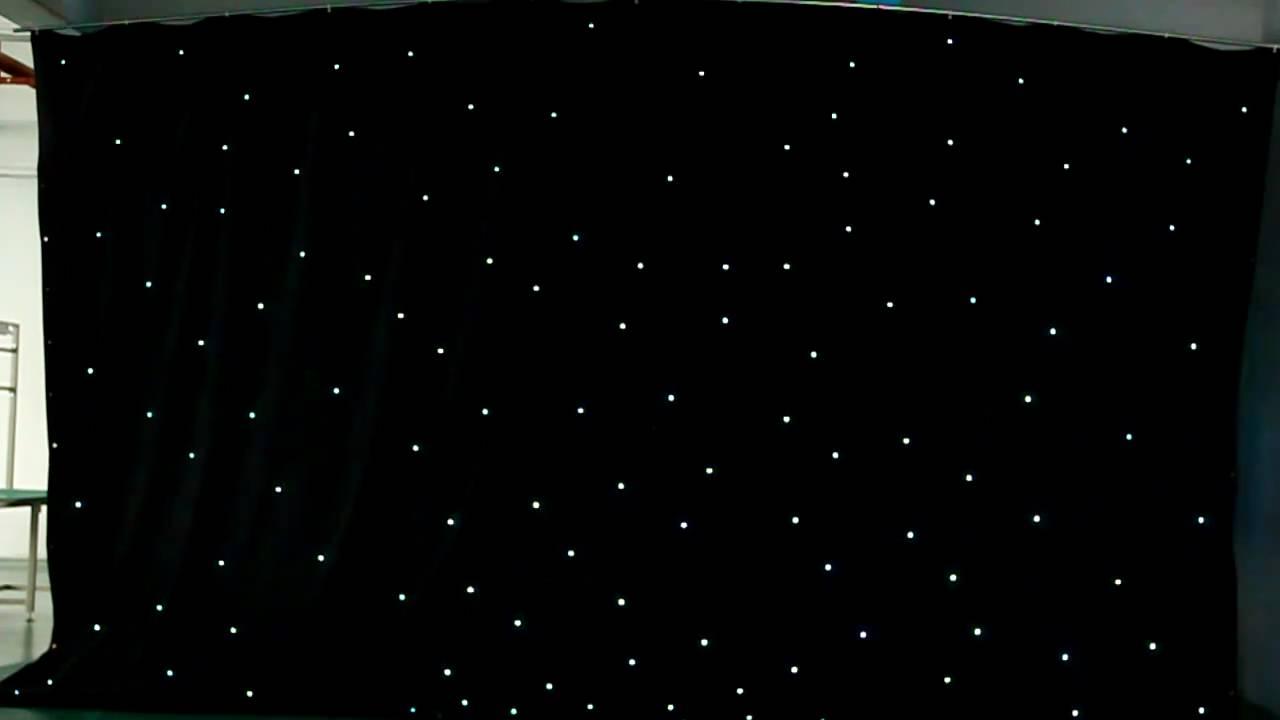W T International Ltd Led Star Curtain Video Mov Youtube