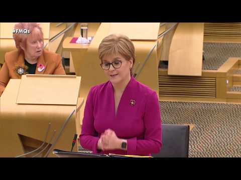 First Minister's Questions - 7 November 2019