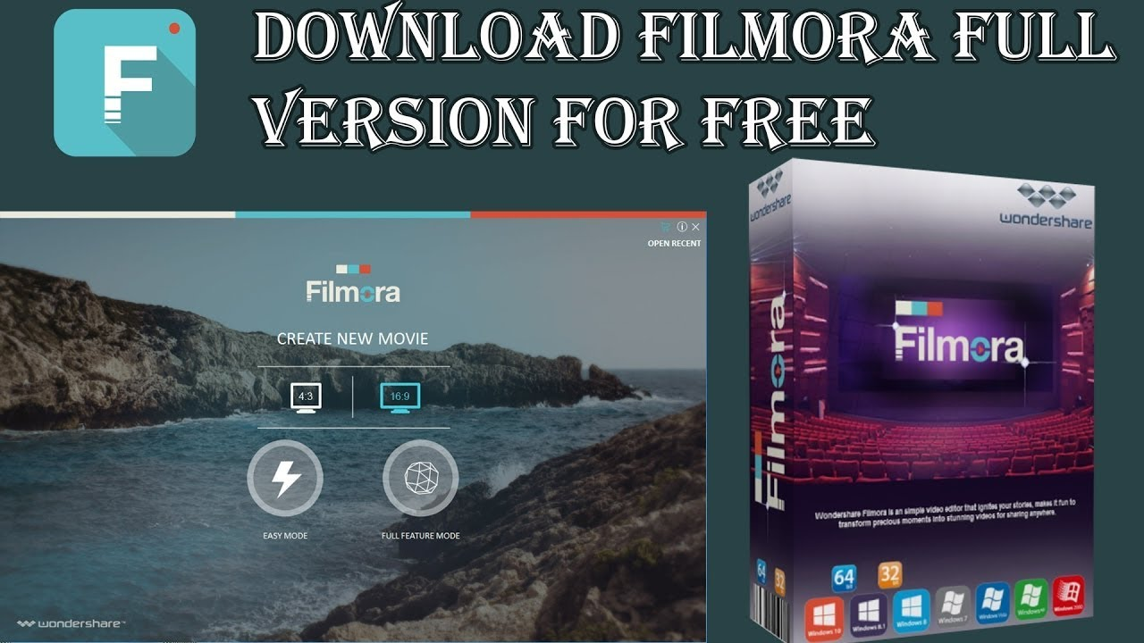 filmora free full version download