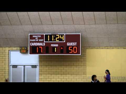 Andrews University Cardinals Basketball Indiana University Northwest vs AU Cardinals