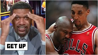 Scottie Pippen is throwing shade at Michael Jordan with his pizza-emoji tweet! - Jalen Rose | Get Up