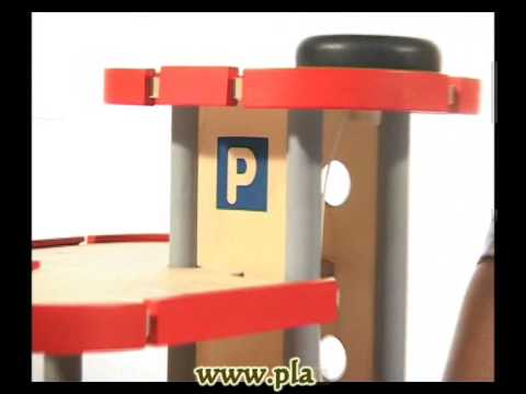 Plantoys wooden toy educational toy 6227 Parking Garage YouTube – Plan Toy Garage