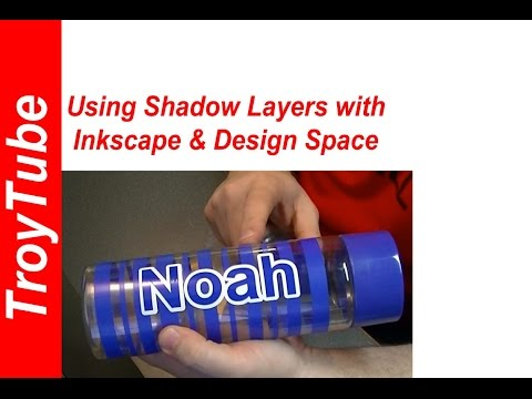 How to do Shadow Layers in Design Space and Inkscape