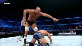 Antonio Cesaro vs Tyson Kidd - WWE Smackdown 4/27/12