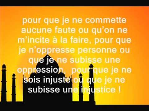 010 invocation EN SORTANT DE LA MAISON