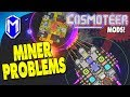 Miner Problems, Using Our Mining Ship To Attack - Let's Play Cosmoteer Mods Gameplay Ep 3