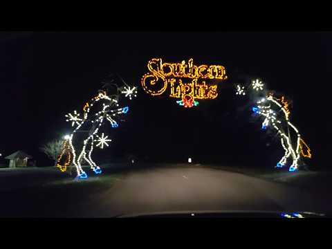 Southern Lights 2017 drive-thru Christmas lights display at the Kentucky Horse Park