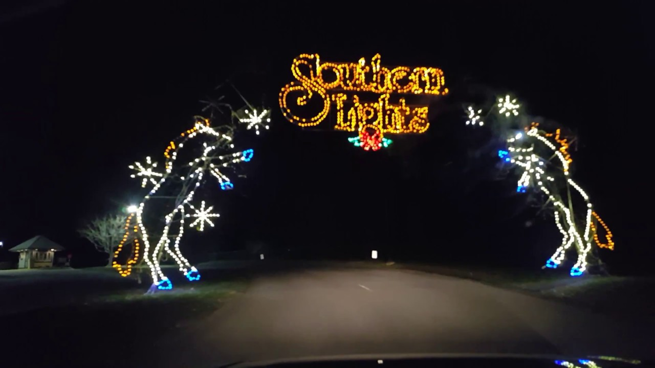 Southern Lights 2017 Drive Thru Christmas Display At The Kentucky Horse Park