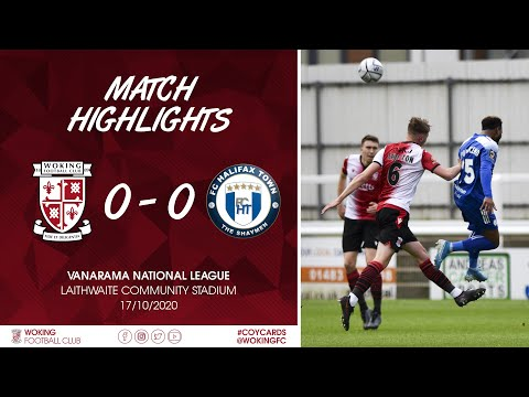 Woking Halifax Goals And Highlights