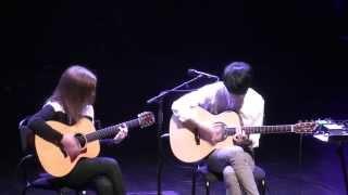 Gambar cover (Depapepe) Start - Gabriella Quevedo & Sungha Jung (live)