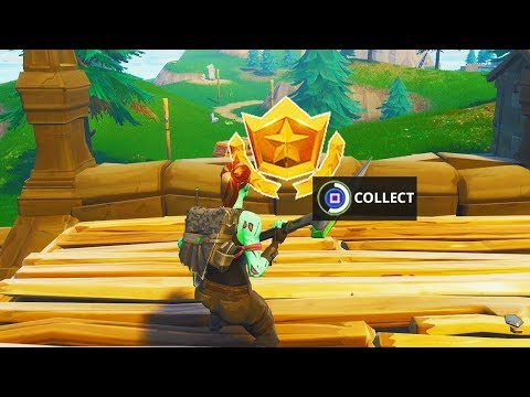 """""""Follow the Treasure Map Found in Snobby Shores"""" Location Fortnite Week 5 Battle Pass Challenge!"""