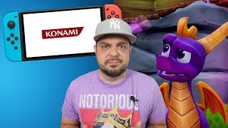 Konami and Activision ANGER Nintendo Switch Owners!
